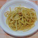 Spaghettino con ricci....super!