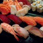 Choice except Foie Gras sushi