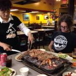 Foto di Wooden Charcoal Barbecue House