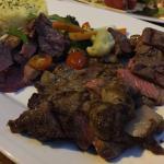 Rib eye and Tenderloin steaks!