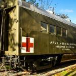 US Army Ambulance Kitchen Car