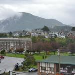 View of Prince Rupert town from our room