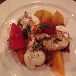 Heirloom tomato n fresh mozzarella salad