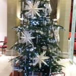 Le sapin de Noel de Swisshotel Metropole