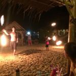Tägliche Feuershow