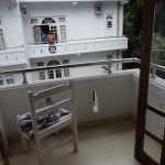 Balcony facing opposite block
