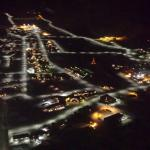 Polar Nightly Longyearbyen From The Air