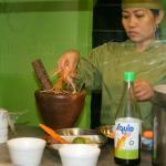 Traditional Papaya salad