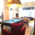 Pool Table in Lobby