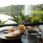 Breakfast with fresh air