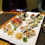 Ypperlig og velsmakende sushi. Anbefales på det sterkeste!