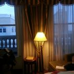 The large windows in our room. Loved the view.