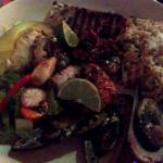 Seafood grill mix