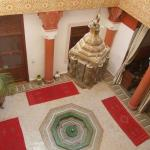 Inside of riad lila