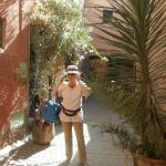 In front of the riad Lila