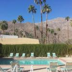 Beautiful views of the pool area and San Jacinto Mountains