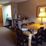 So roomy and a great table!