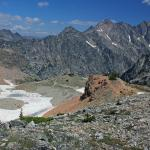 View from Paintbrush Divide