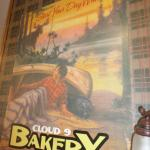 vintage poster on wall