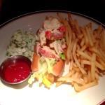 Lousy Lobster Roll sandwich