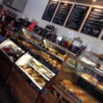Yummy pastries and sandwiches