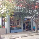 Store outside