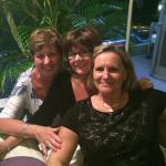 Ruthanne, MaryBeth and Martine, the owner