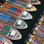 Barcos para o passeio