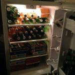 Enchemos o frigobar..haha