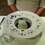 chocolate Mint Pudding cake...