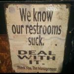 Bathroom with a sense of humor