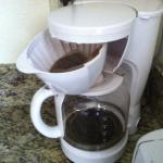 Coffee pot was not washed or grounds/filter emptied before we checked in.