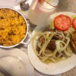 Bistec (Steak) & rice