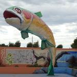 The Big Trout Motor Inn Mascot