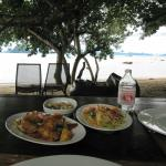 Lunch at the sea