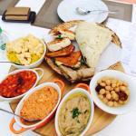 Zaffran Breakfast Platter
