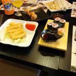 rollitos y sushi lo mas soso