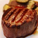 Filet Mignon with Grilled Vegetables