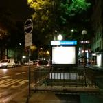 Grands  Boulevars Metro station - closes to the hotel