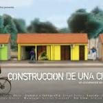 Proyección en el Hotel de la Película de la construcción de la nueva ciudad