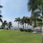 View from ocean side rooms