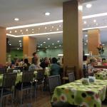 o interior do buffet