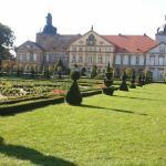 Schloß Hundisburg mit wunderschöner Gartenanlage
