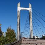Le pont que l'on traverse pour accéder à l'autre partie du parc
