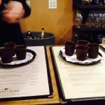 Chocolate cups at Wilson Creek