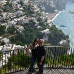 Picture of us taken by Gaetano at the Amalfi Coast.