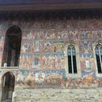 Biblical scenes and the Siege of Constantinople at Moldovita monastery