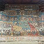 The Last Judgement at Voronet monastery