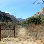 Entrance to Cave Creek