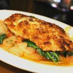 Horseradish Crusted Salmon Dinner